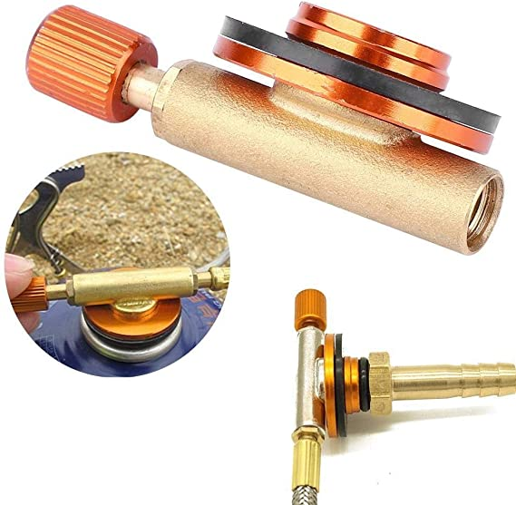 Camping Stove Control Switch BBQ Burner Valve for Flat gas Tank
