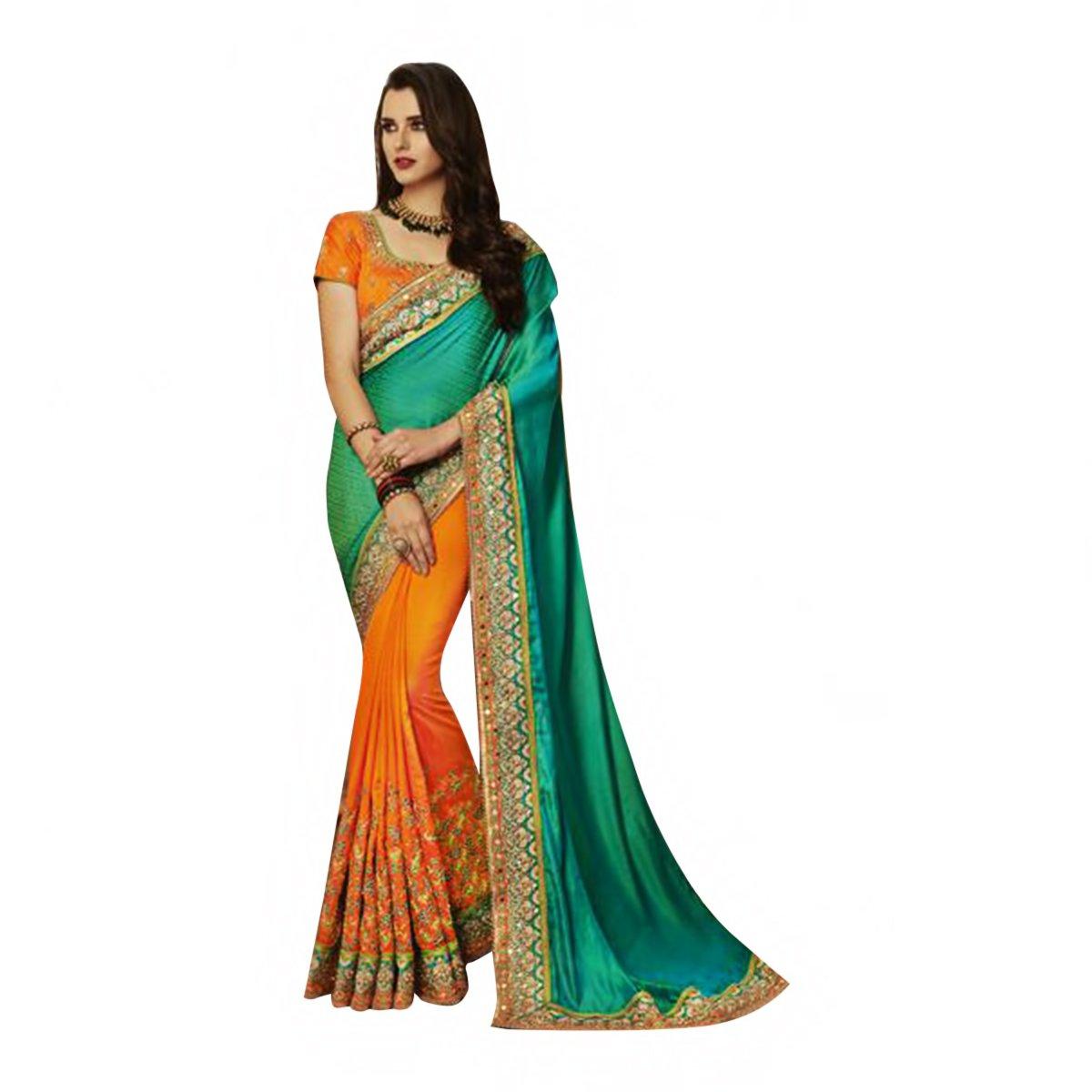 New Launch Bridal Silk Saree Sari Collection Blouse Wedding Party Wear Ceremony Women Muslim eid 586 15