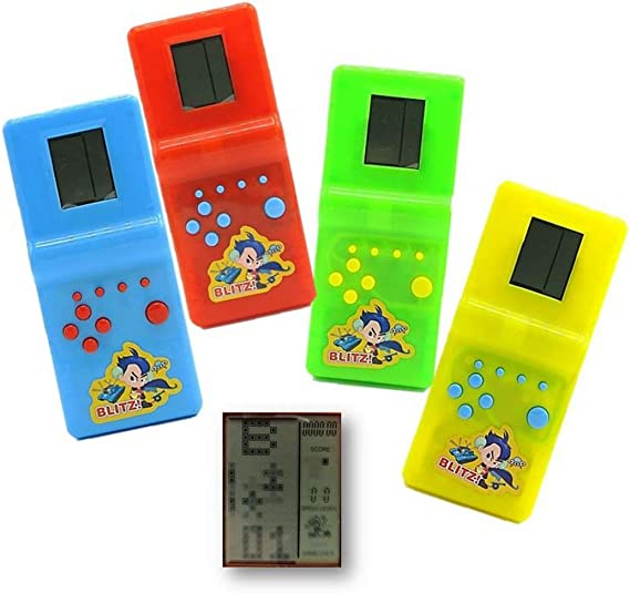 Dazzling Toys Hot Kids' Toys Educational Tetris Game Hand Held LCD Electronic Toys Brick Game