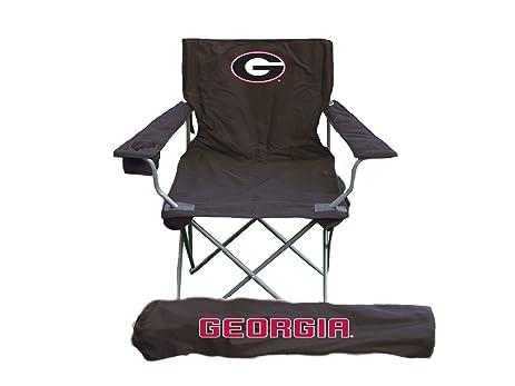 Rivalry NCAA Georgia Bulldogs Folding Chair With Bag