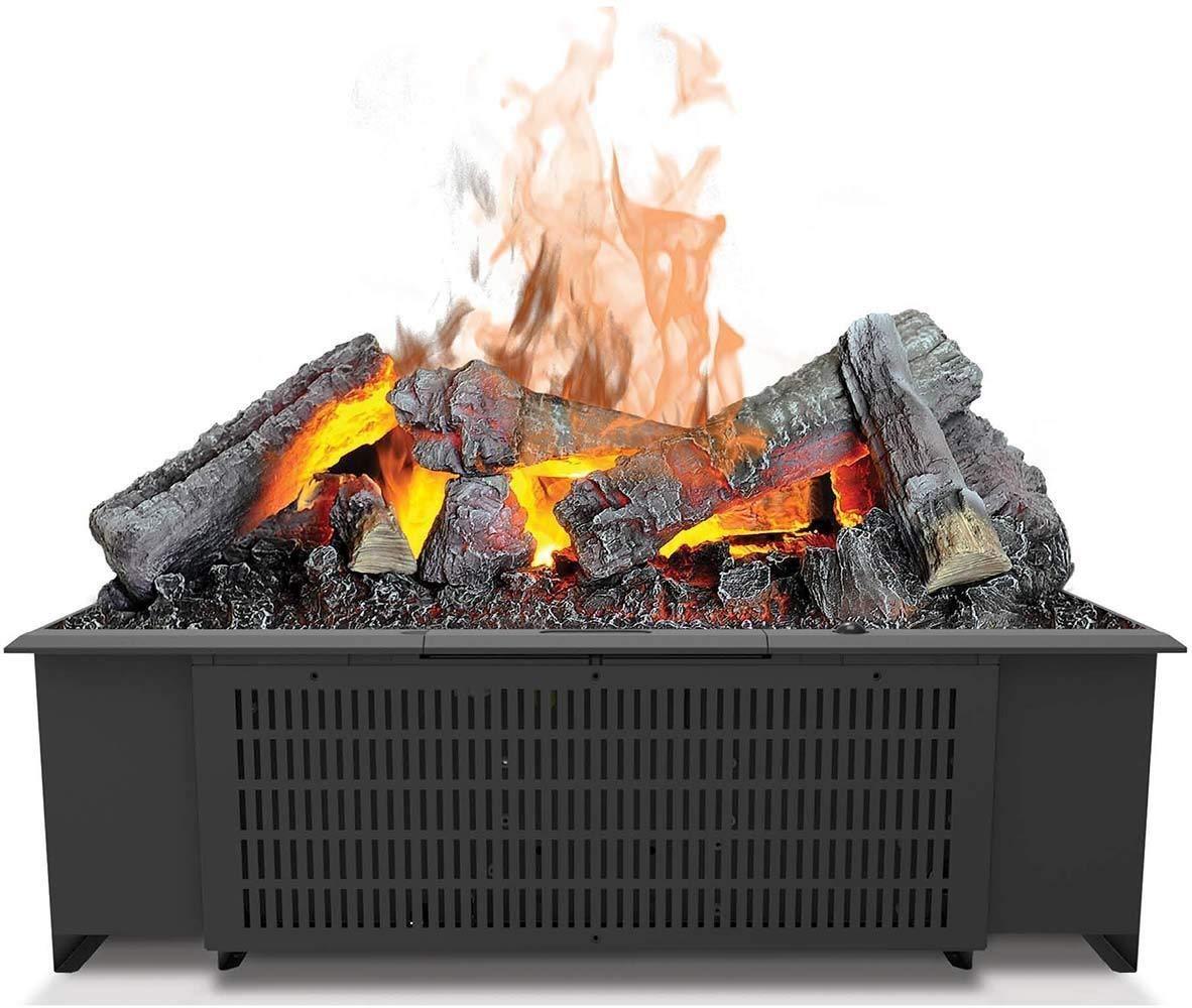 Chimenea 230 V, 50 Hz, 200 W, 200 W, 200 W, 556 mm DIMPLEX Cassette 600 Built-in Fireplace El/éctrico Negro Interior