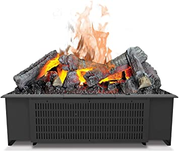Ewt Faber Cas600nh Indoor Log Insert Fireplace Electric Black