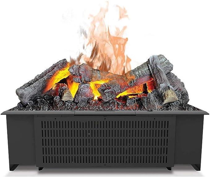 DIMPLEX Cassette 600 Built-in Fireplace Eléctrico Negro Interior - Chimenea (230 V, 50 Hz, 200 W, 200 W, 200 W, 556 mm): Amazon.es: Hogar