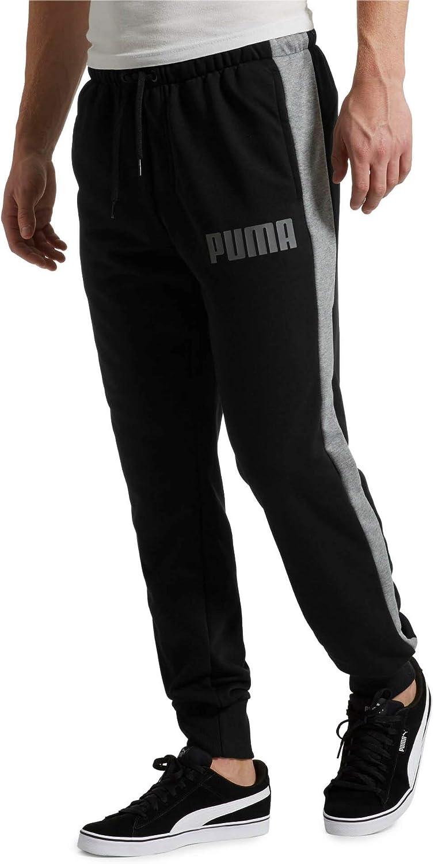 PUMA Pantalon en Sweat en Maille Contrast pour Homme