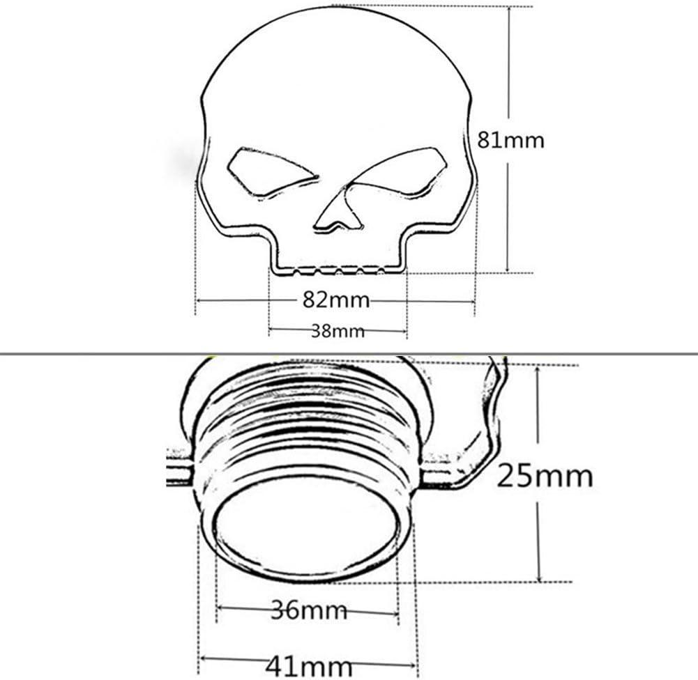 per Harley Davidson OUYAWEI Tappo per Serbatoio dellOlio e Carburante in Alluminio CNC