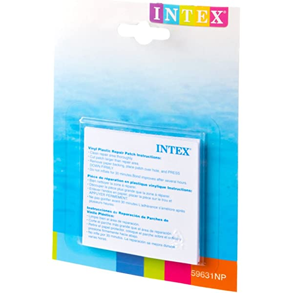 Intex 59631NP - Set de reparación parches autoadhesivos, 7 x ...