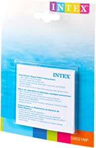 Intex 59631NP - Set de reparación parches autoadhesivos, 7 x 7 cm ...
