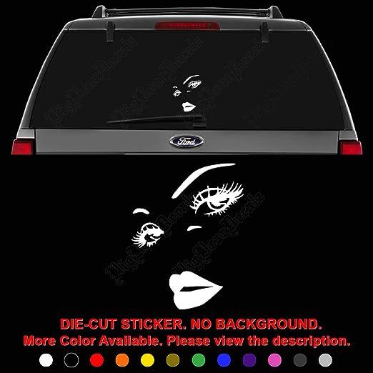 Skeleton Mascot Decal Sticker Car Truck Vehicle Window Bumper Laptop Wall
