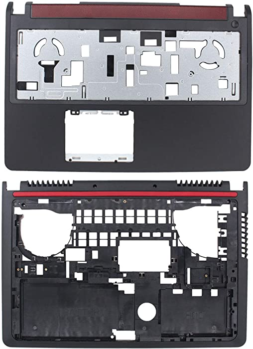 ApplianPar Upper Palmrest and Bottom Case Cover for Dell Inspiron 15 7000 7559 0VF544 08FGMW