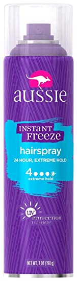 Aussie Instant Freeze Hair Spray, 7 Oz at amazon