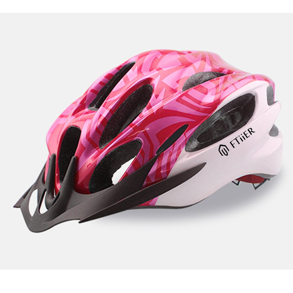 as described Eco-Friendly Adjustable Men Women Mountain Bicycle Road Bike Helmet Safety Protection Anti-collision and Shock Absorption Dovewill Adult Cycling Bike Helmet Black