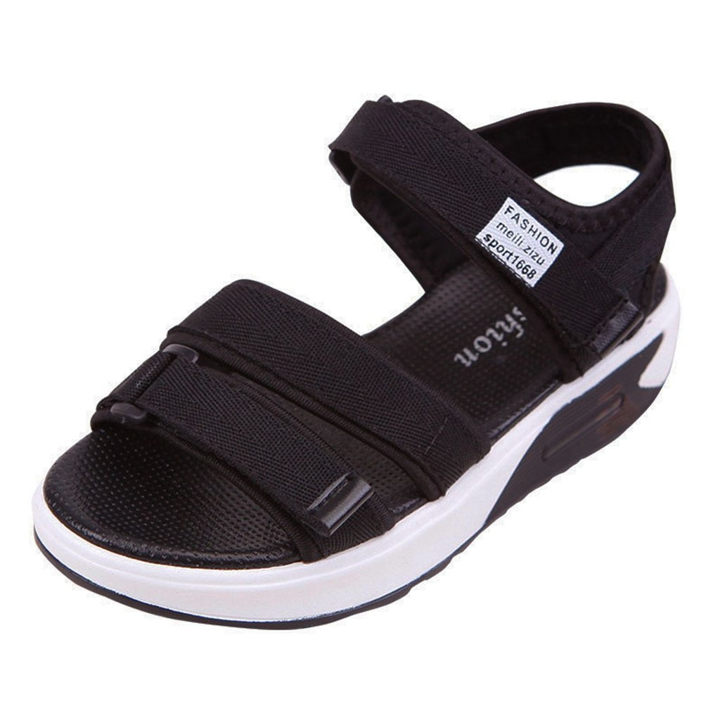 Boys Girls Sport Outdoor Breathable Closed-Toe Strap Summer Adventure Seeker Athletic Sandals