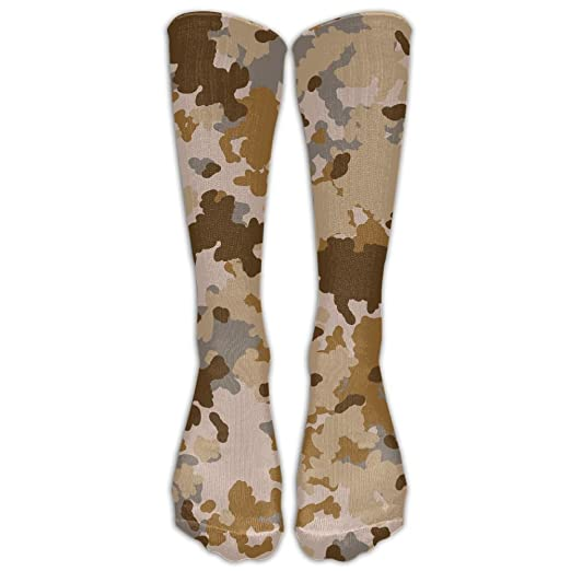 00a516496 Forest Camouflage Pattern Athletic Tube Stockings Women Men Classics Knee  High Socks Sport Long Sock One
