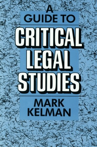 critical legal studies This brief encyclopedia entry, written for the oxford international encyclopedia of legal history, discusses the origins and implications of critical legal stud.