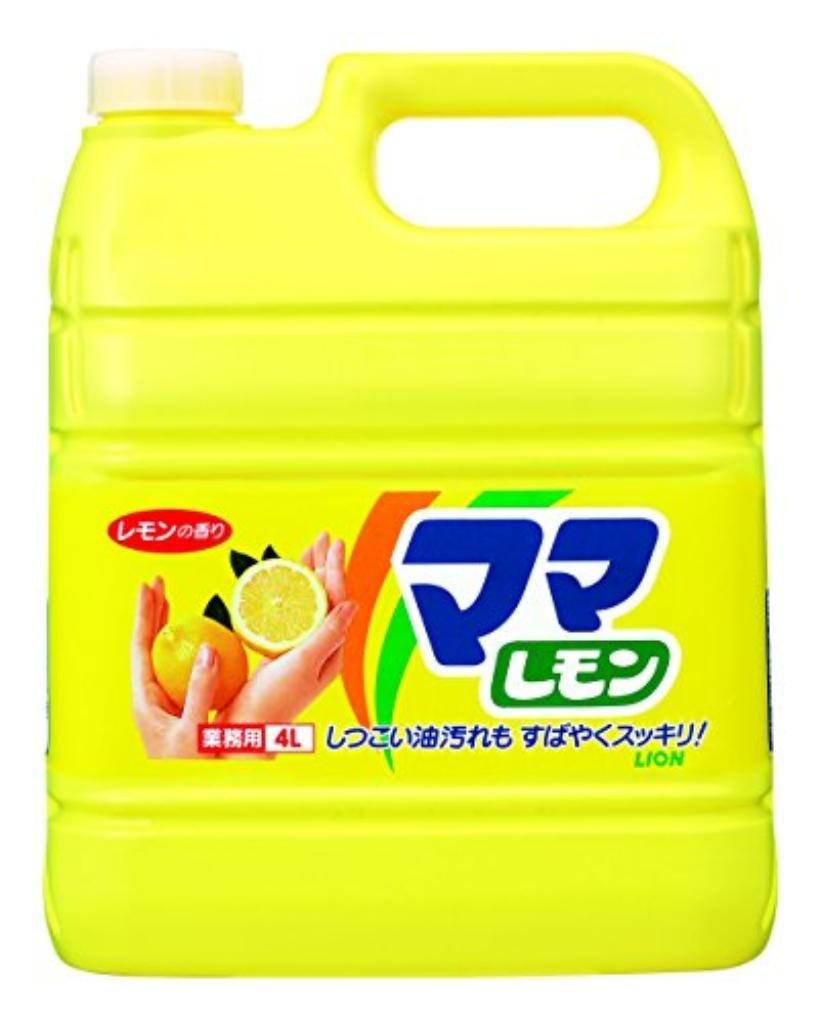 (まとめ買い)ライオン ママレモン 業務用 4L 【×30セット】 B01HIAZXTM