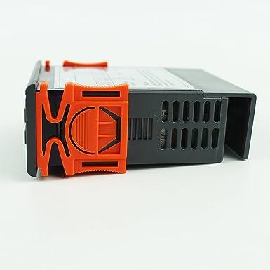 ... Display LCD y 2 Relés Control de Temperatura para Incubadora Terrario, Calentador de Agua, Enfriador Industrial, Frigorifico: Amazon.es: Industria, ...