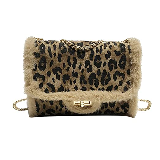 338838113d Image Unavailable. Image not available for. Color  Women Leopard Small Bag