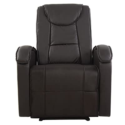Amazon Com Natuzzi Editions Amalfi Brown Leather Power