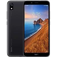 Xiaomi Redmi 7A Smartphone,2GB RAM 32GB ROM Doppia SIM 5,45 '' HD a schermo intero, Qualcomm Snapdragon octa-core Processore,Carattere grande,Camera posteriore da 13 MP+ 5 MP(Nero)