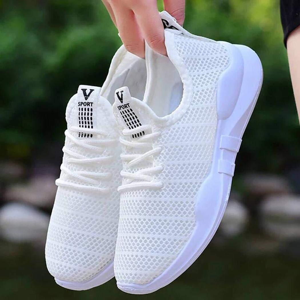 yukio Chaussures de Sport /à Lacets pour Femmes Chaussures de Basket Running Respirantes Athl/étique Sneakers Courtes Fitness Tennis