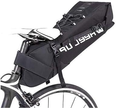 Bolsa para sillín de Bicicleta, 10 L, Bolsa de Almacenamiento para ...