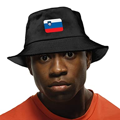 NDFGR Central-African Unisex Cotton Packable Black Travel Bucket Hat Fishing Cap