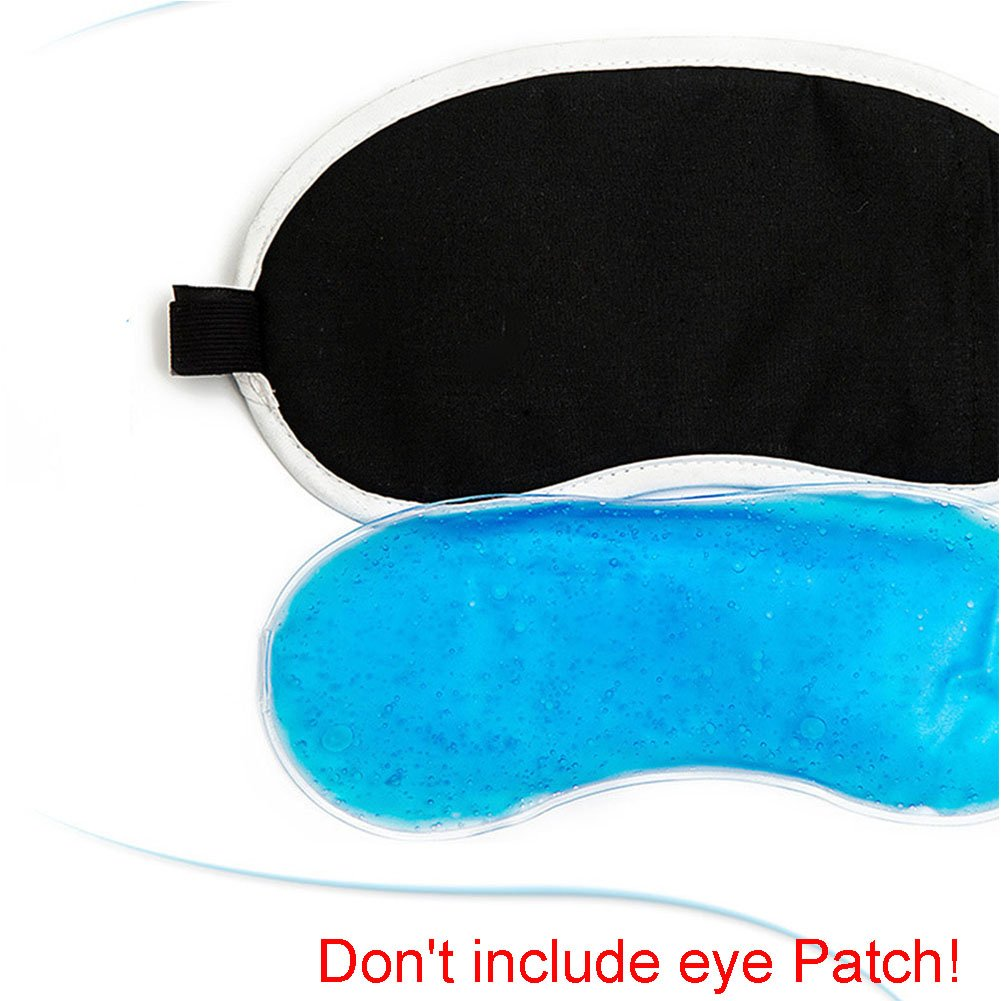 Occhio raffreddamento maschera rilassante gel Eye Mask per terapia caldo/freddo spa Eye Wrap per occhi gonfi Xpccj