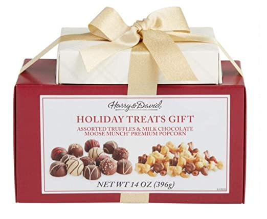 Harry David S Holiday Sweet Treats Gift Box Tower Duo 14oz 396g Grocery Gourmet Food