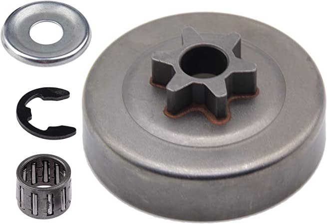 CLUTCH DRUM ASSEMBLY WITH 3//8 RIM SPROCKET FITS STIHL 021 025 MS 210 MS 250