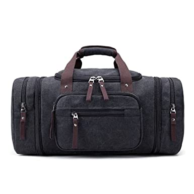 Magnificent Men 2018 Handbag Fashionable Canvas Large Capacity Travel Bag 9bc1757a14d97