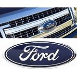 fit 2004-2014 F150 Front Grille Tailgate Emblem,for Ford 04-14 F250 F350,11-14 Edge,11-16 Explorer,06-11 Ranger Dark…