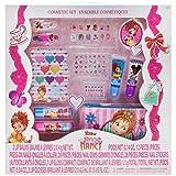 Townley Girl Fancy Nancy Beauty Kit, Lip balms, glosses, press on nails, gems, stickers, barrettes & more