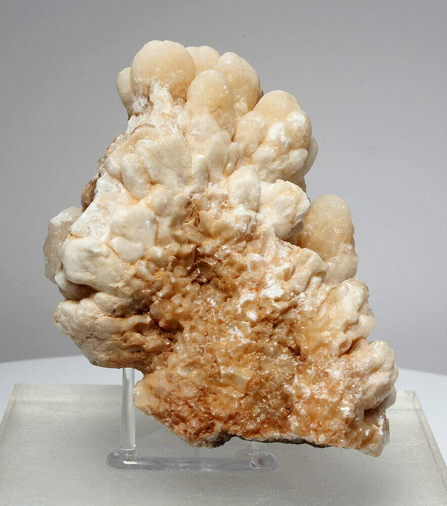Beautiful Bubbly Aragonite Calcite from Mibladen, Morocco (5823)