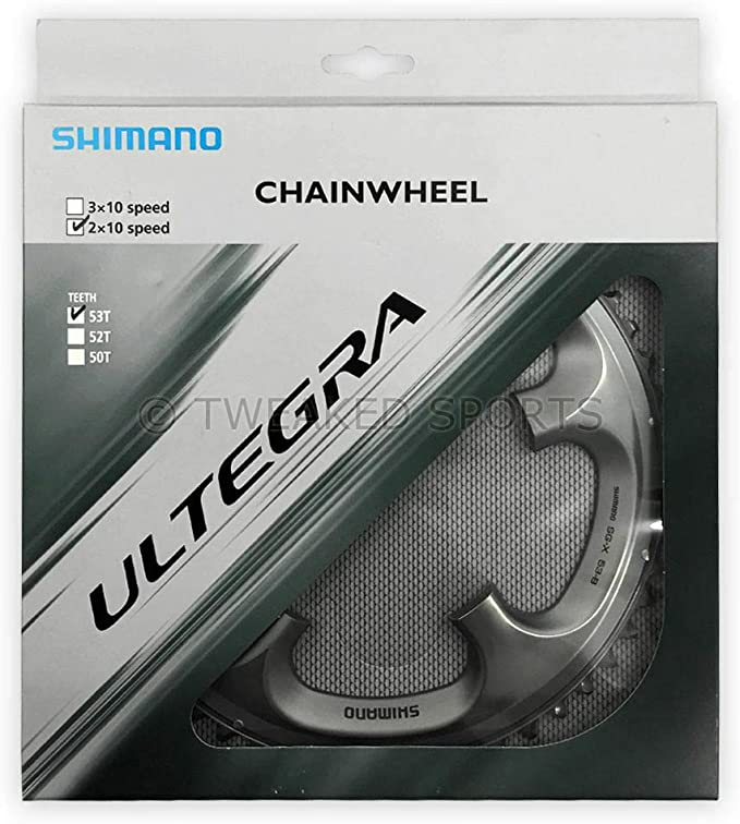 Shimano Rayons Protection Vitre Cp-FH 53 36 Trous 32-36 dents Ø 160 mm NEUF