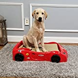 Cheap Maxy Home Pet Bed Frame – GT999 Race Car Dog Bed Frame (Red)