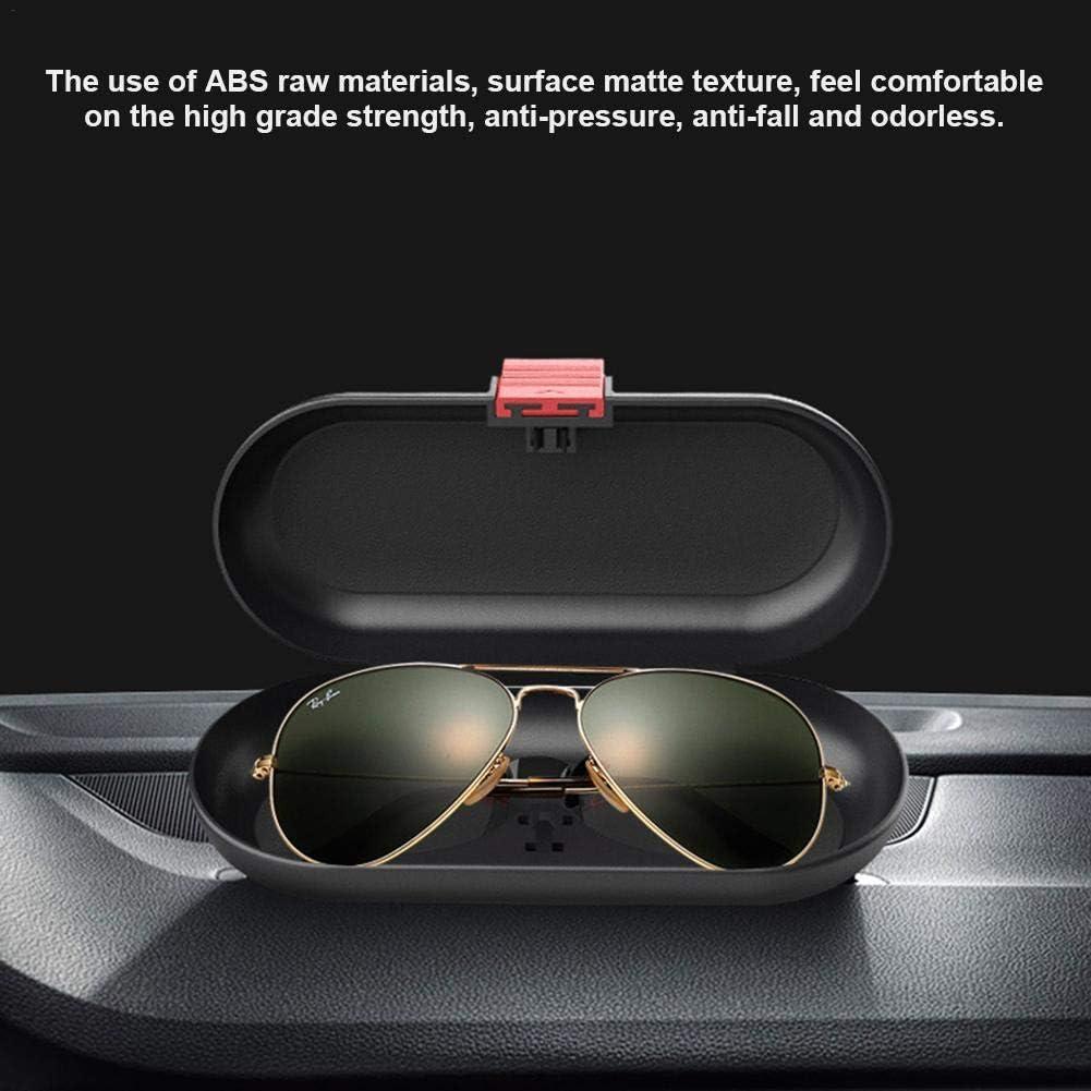 Exuberanter Sonnenbrillenhalter Auto Sonnenblende Universal Brillenhalter F/ür Auto Sonnenblende Sonnenbrillenhalterung