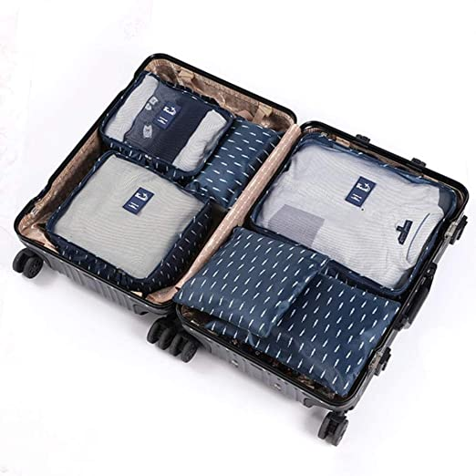 6pcs / set Bolsas de almacenamiento organizador de viaje ...