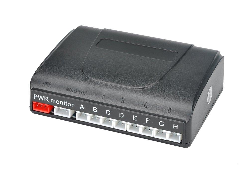 BW 8aparcamiento con sensor ultrasónico sistema–pantalla LCD de 2pulgadas, alerta de sonido, 0,3A 2,5m distancia de detección BW Corp BWA620