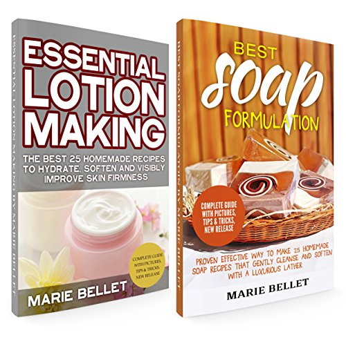 - Soapmaking Box Set: Best Soap Formulation: Proven Effective Way to Make 25 Homemade Soap + Essential Lotion Making: The Best 25 Homemade Recipes To Hydrate, Soften And Visibly Improve Skin Firmness