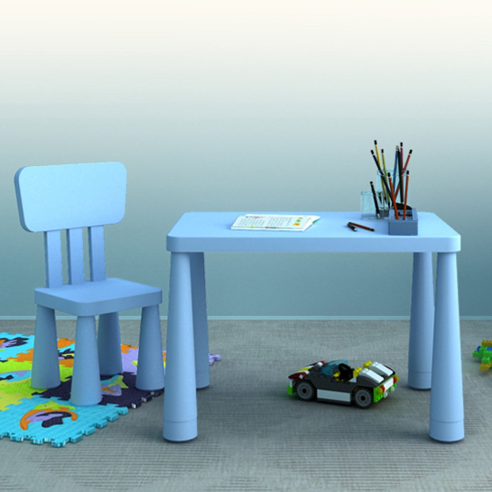 Amazon.com: ZHANGRONG- Kindergarten children tables and chairs Set ...