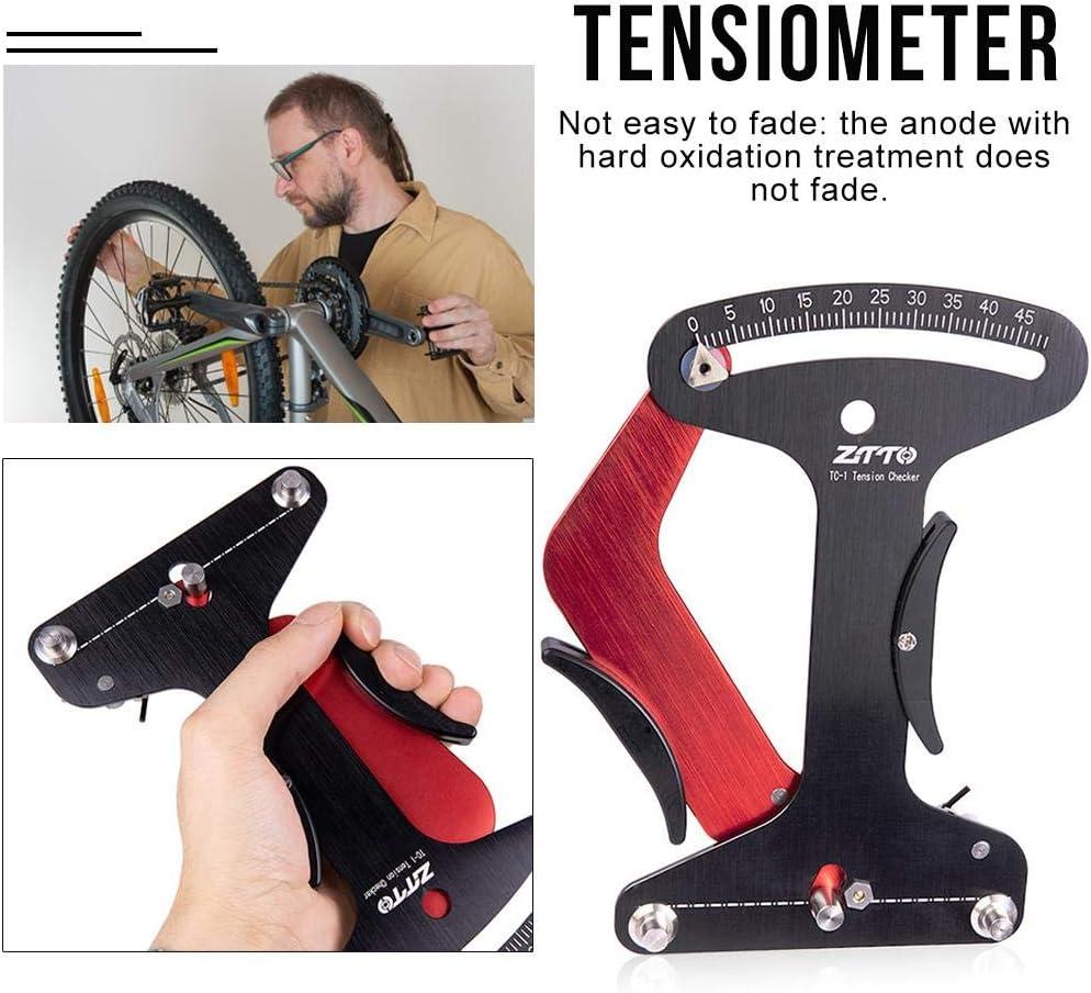 perfecti Tensiómetro de Radios Medidor Universal de Tensión de Bicicleta para Hacer o Corregir El Diagnóstico de Problemas de La Rueda de Rueda: Amazon.es: Hogar
