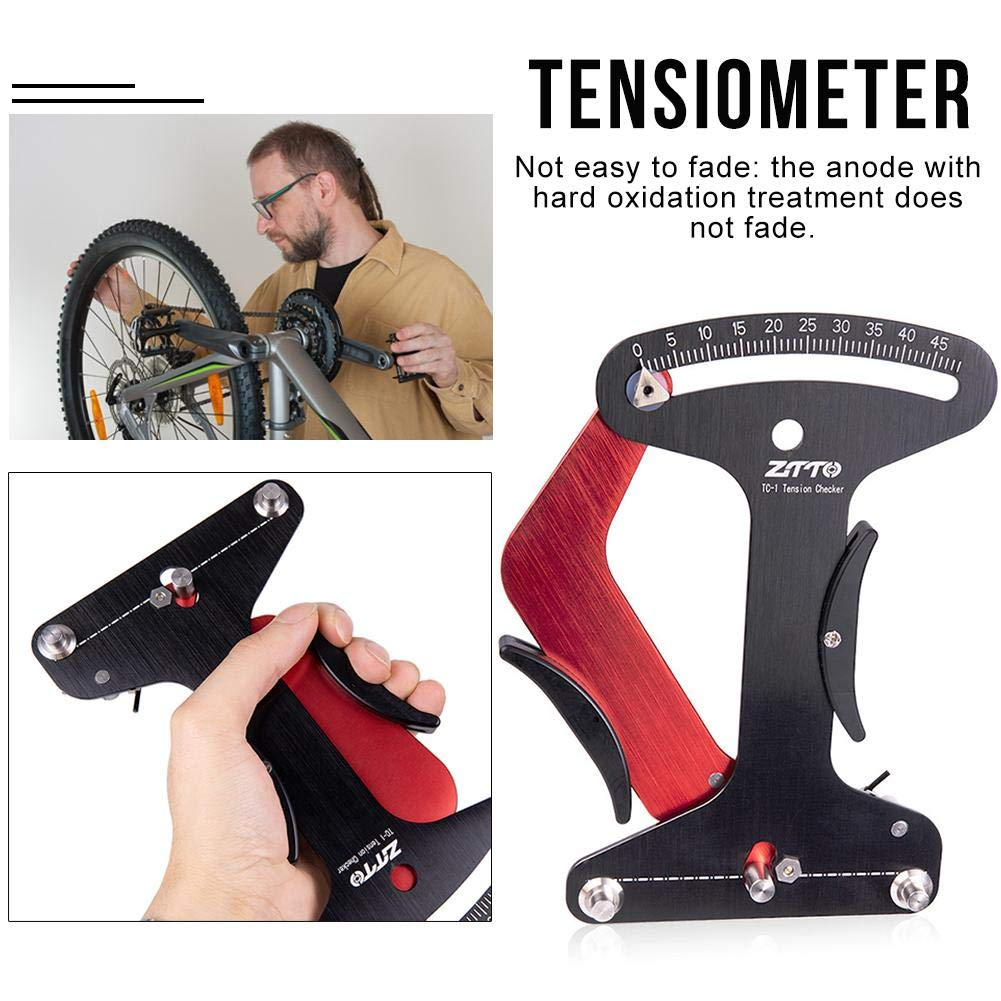 Amazon com: Greatown Bicycle Spokes Tension Meter,Wire Wheel