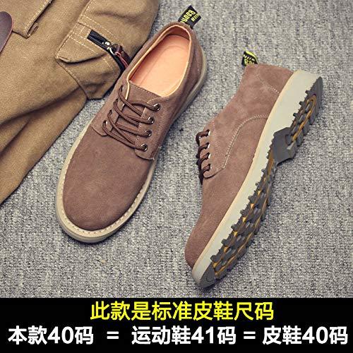 EAOJRSCSA Herrenschuhe Atmungsaktiv Freizeitschuhe Männer Männer Schuhe Flut Schuhe Schuhe Martin Schuhe Männer Trend Wilde Schuhe ba3920