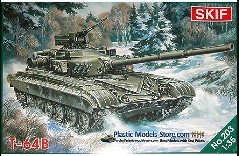 Amazon.com  T-64B Soviet main battle tank MBT T-64 mod 1 35 SKIF 203 ... f1cc87853c26
