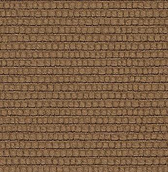 Papier Peint Imitation Cuir De Crocodile Texture En Vinyle Sur TNT Lavable  Marron Italian Wallpaper Natural