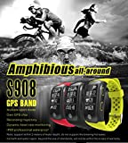 S908 GPS Smart Bands With Heart Rate Sleep Monitor Sedentary Reminder Pedometer IP68 Waterproof Fitness Trackers for Ios Andriod