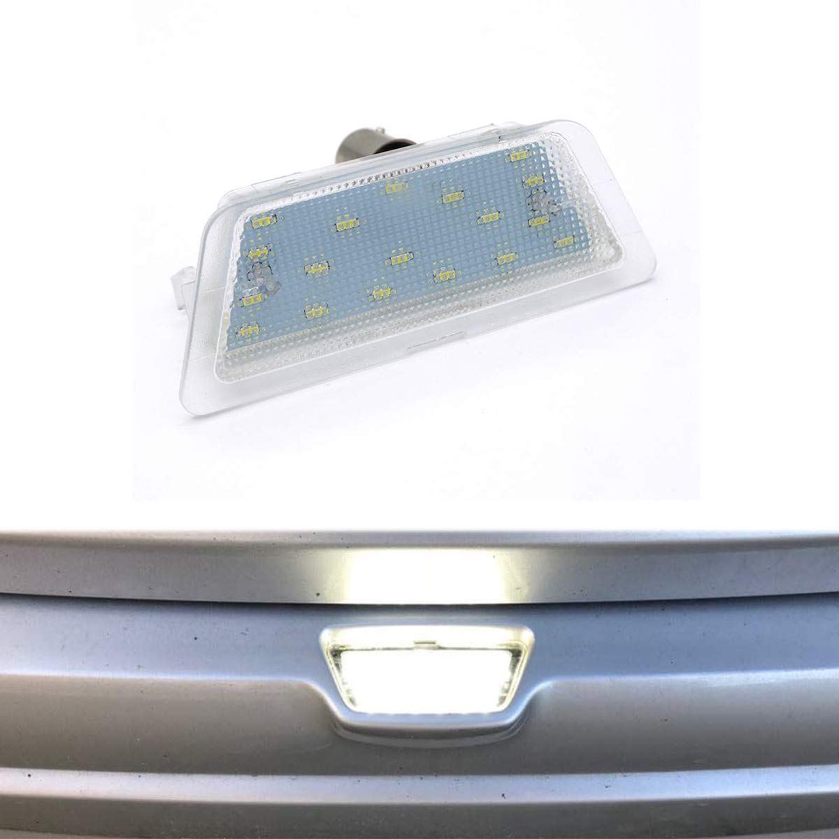 GOFORJUMP 1X LED For Astra G 98-04 led number license plate light car license light car styling car led light for O//pel Astra G 98-04