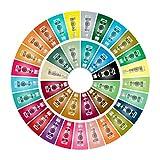 Rainbow Dust ProGel Icing Fondant Colour Paste Gel Food Colouring Full Set of 37