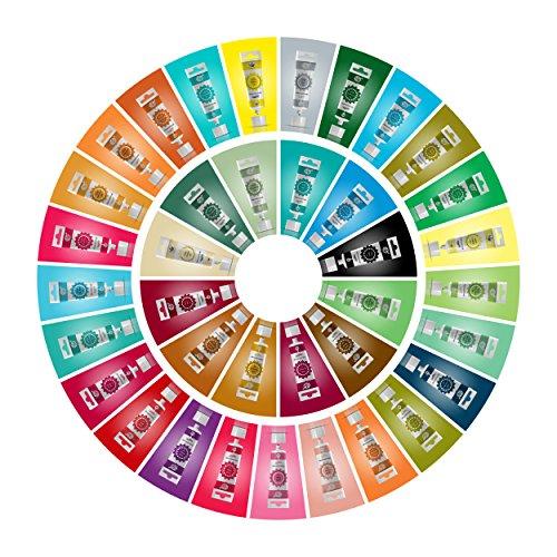 Rainbow Dust ProGel Icing Fondant Colour Paste Gel Food Colouring Full Set of 37 by Rainbow Dust (Image #1)