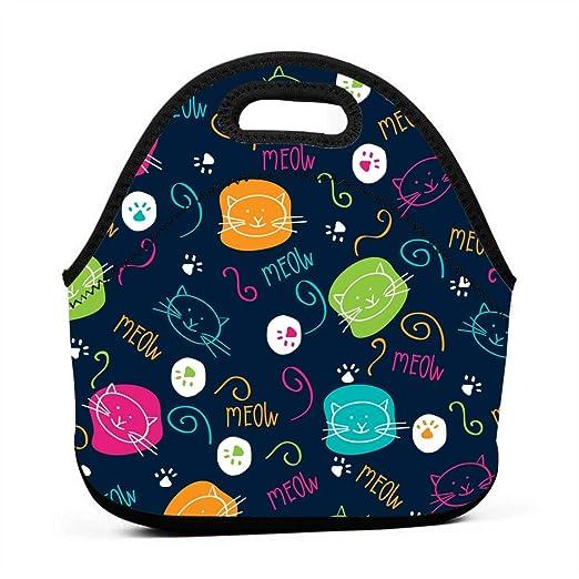 Bolsas de almuerzo para niñas con dibujos animados, bonitos ...